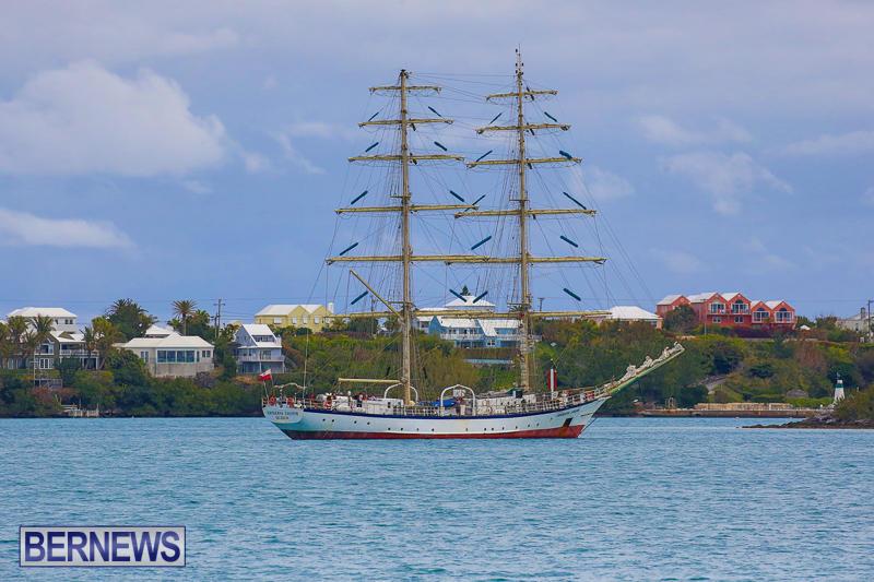 Fryderyk Chopin Tall Ship Bermuda, March 27 2017-2