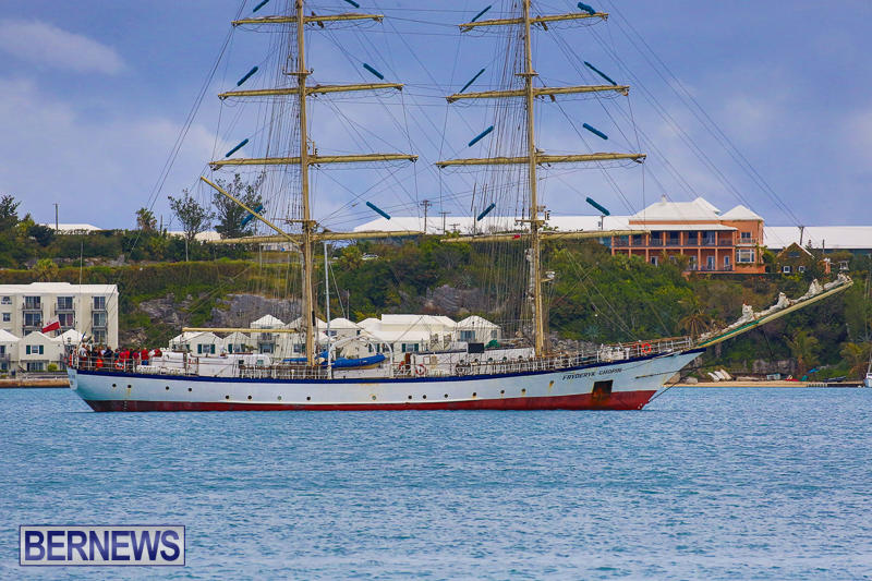 Fryderyk Chopin Tall Ship Bermuda, March 27 2017-5