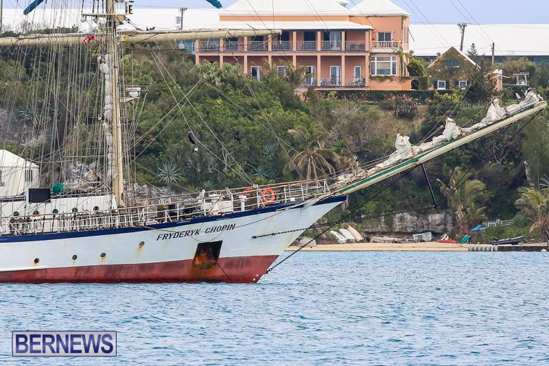 Fryderyk Chopin Tall Ship Bermuda, March 27 2017-7