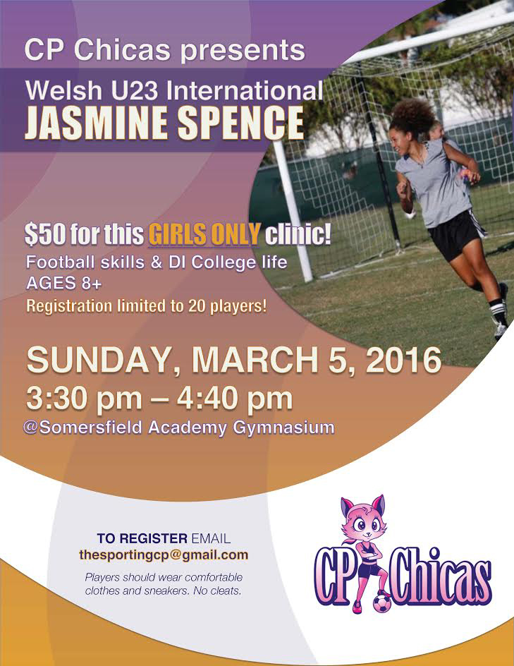 Jasmine Spence Clinic Bermuda March 2 2017