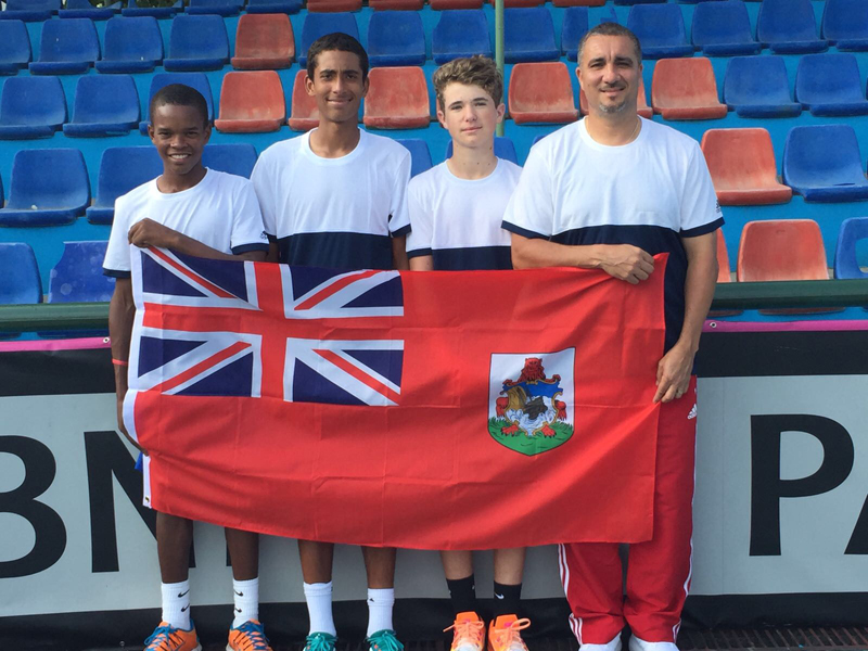 Junior Davis Cup Team 2017 Bermuda March 2017
