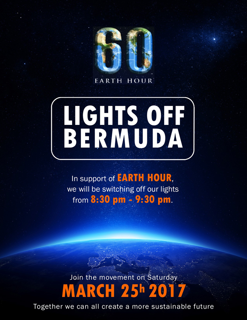 Lights Out Bermuda March 2017