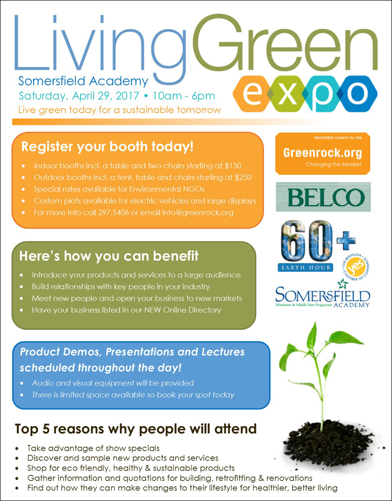Living Green Expo Bermuda March 2017