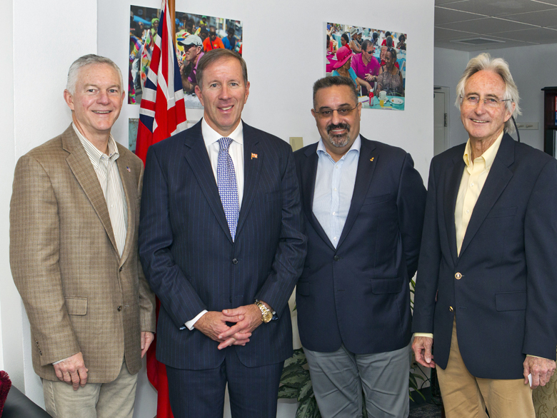 Premier meets with NCL Executives Bermuda March 30 2017