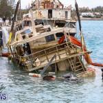 Sunken Boat Ships Marginal Wharf Bermuda, March 30 2017-14