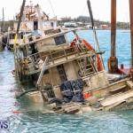 Sunken Boat Ships Marginal Wharf Bermuda, March 30 2017-15