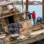 Sunken Boat Ships Marginal Wharf Bermuda, March 30 2017-19
