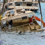 Sunken Boat Ships Marginal Wharf Bermuda, March 30 2017-2