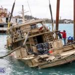 Sunken Boat Ships Marginal Wharf Bermuda, March 30 2017-20