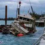 Sunken Boat Ships Marginal Wharf Bermuda, March 30 2017-22