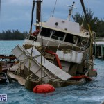 Sunken Boat Ships Marginal Wharf Bermuda, March 30 2017-23