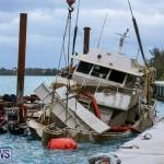 Sunken Boat Ships Marginal Wharf Bermuda, March 30 2017-25