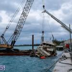 Sunken Boat Ships Marginal Wharf Bermuda, March 30 2017-26