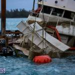 Sunken Boat Ships Marginal Wharf Bermuda, March 30 2017-27