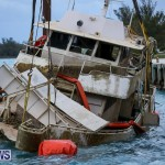 Sunken Boat Ships Marginal Wharf Bermuda, March 30 2017-28