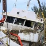 Sunken Boat Ships Marginal Wharf Bermuda, March 30 2017-29