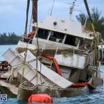 Sunken Boat Ships Marginal Wharf Bermuda, March 30 2017-32