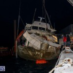Sunken Boat Ships Marginal Wharf Bermuda, March 30 2017-36