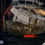 Sunken Boat Ships Marginal Wharf Bermuda, March 30 2017-37
