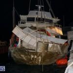 Sunken Boat Ships Marginal Wharf Bermuda, March 30 2017-38