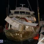 Sunken Boat Ships Marginal Wharf Bermuda, March 30 2017-39
