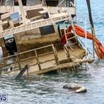 Sunken Boat Ships Marginal Wharf Bermuda, March 30 2017-4