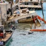 Sunken Boat Ships Marginal Wharf Bermuda, March 30 2017-5