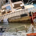 Sunken Boat Ships Marginal Wharf Bermuda, March 30 2017-6