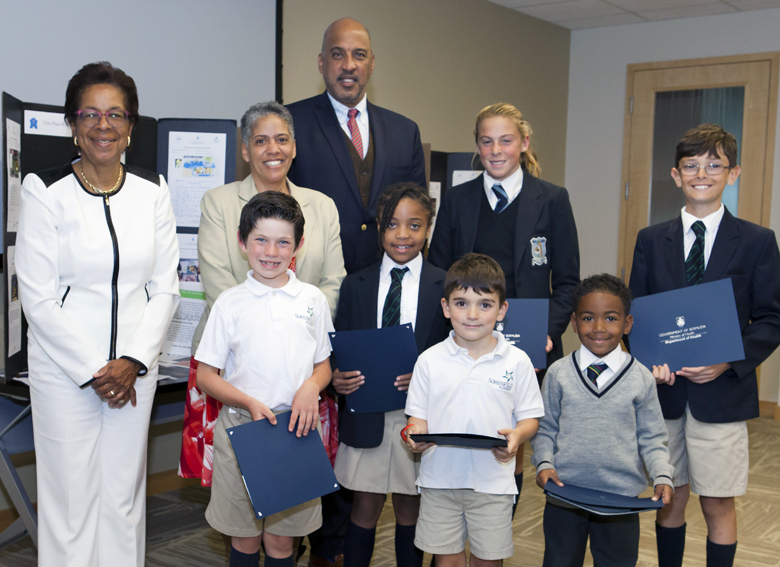 Third Place WInners _HEALTHY_SCHOOL_LUNCH_CHALLENGE_AWARDS bermuda march 22 2017