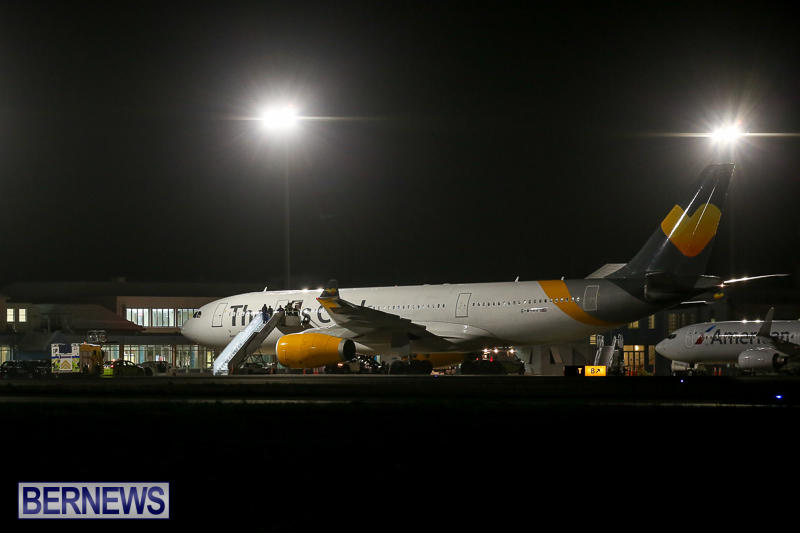 Thomas Cook Plane Medical Diversion Bermuda, March 29 2017-1