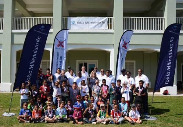 Tokio Millennium Re Pee Wee Cricket Bermuda March 2017 (1)