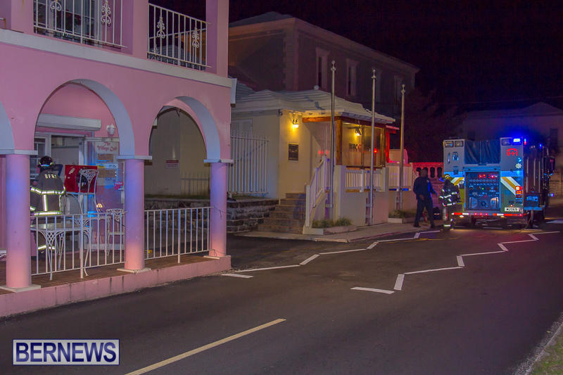 Village Cafe Fire Bermuda, March 13 2017-4