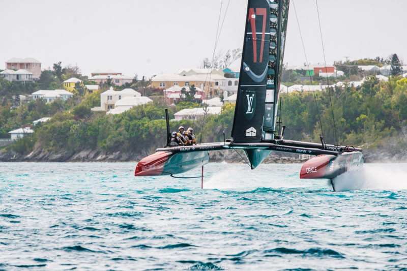 America's Cup Class boats Bermuda April 2017 (8)