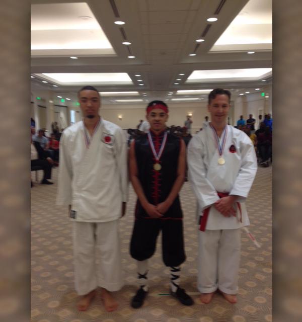 BOKC black belt finalists Bermuda April 2017