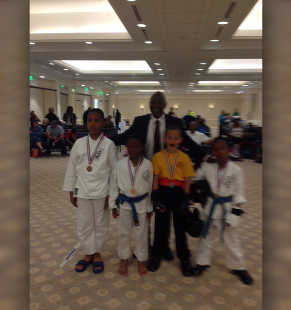 BOKC boys sparring finalists Bermuda April 2017