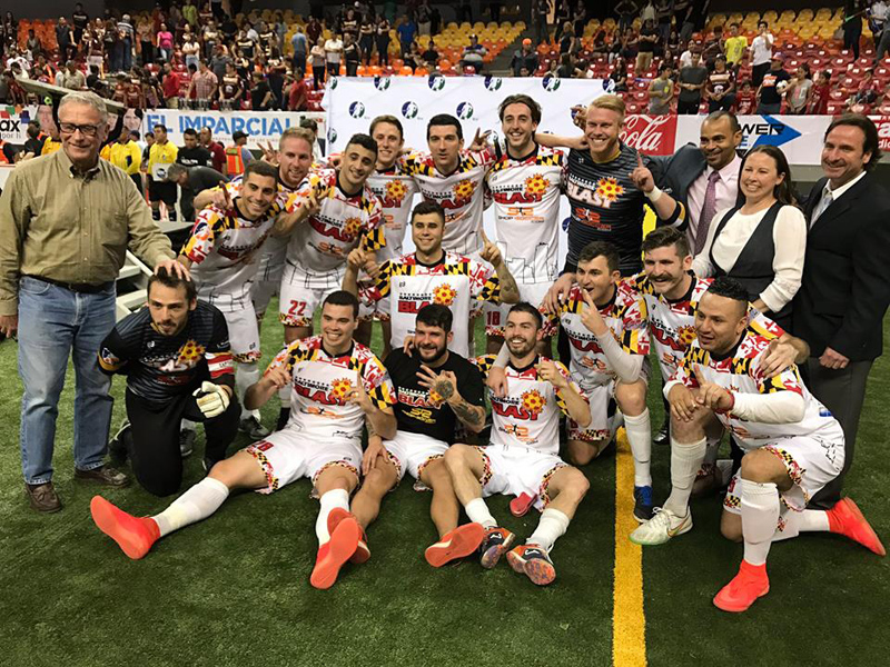 Baltimore Blast Bermuda April 2017