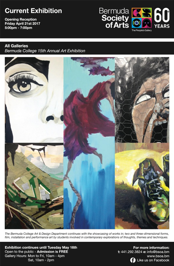 Bermuda College Art Exhibition April 2017