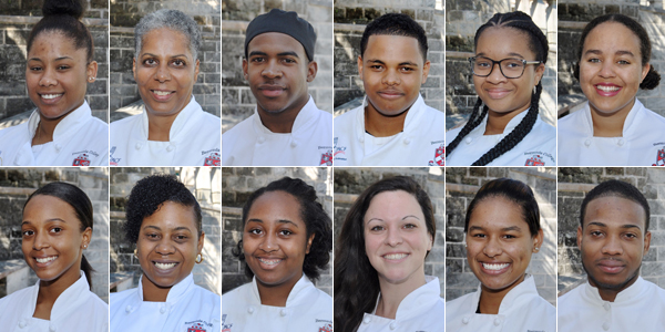 Bermuda College Culinary Arts students Bermuda April 2017 TC