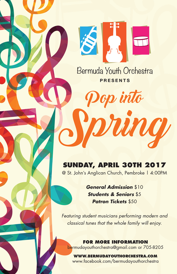 Bermuda Youth Orchestra April 26 2017