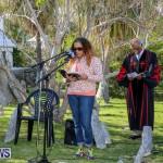 Commemorative Service Kings Pilot James Jemmy Darrell Bermuda, April 8 2017-8