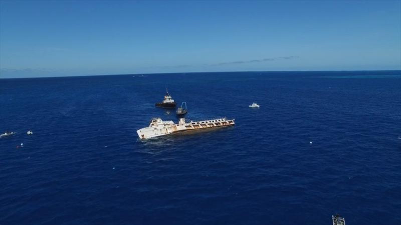 Corinthian shipwreck Bermuda April 6 2017 (1)