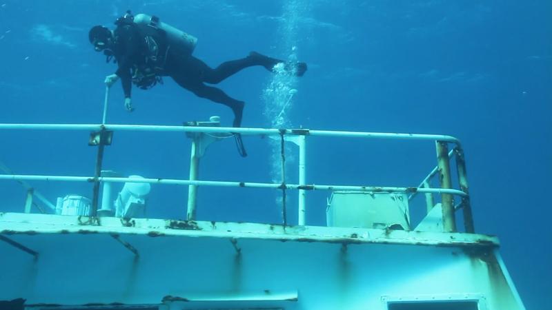 Corinthian shipwreck Bermuda April 6 2017 (3)