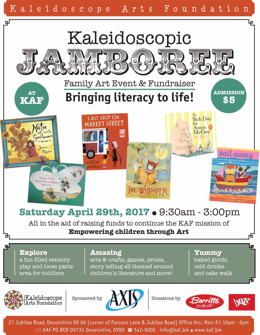 KAF Jamboree Bermuda April 2017