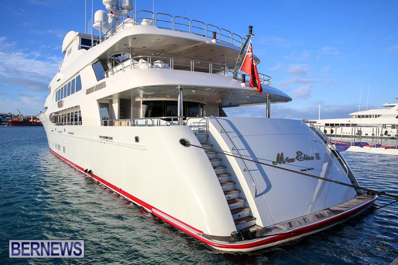 Mia Elise II Superyacht Bermuda, April 23 2017-2