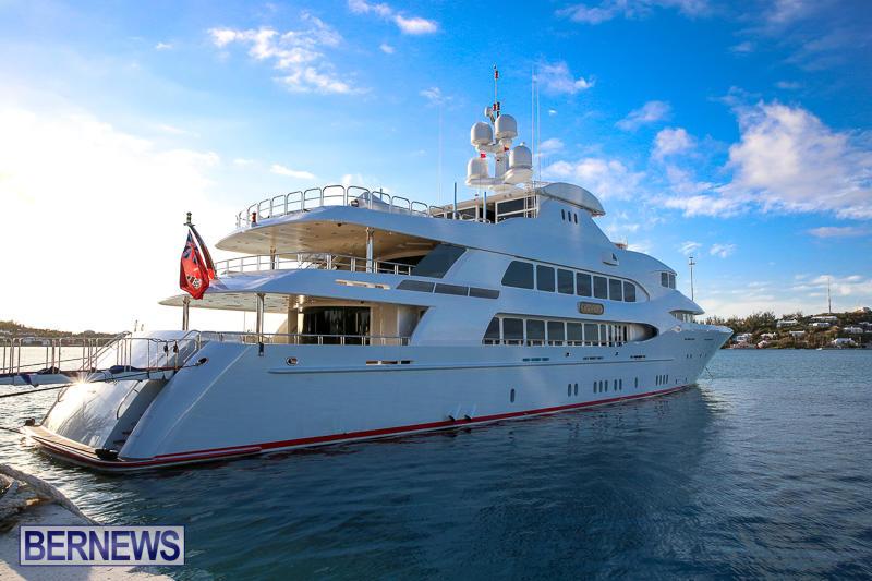 Mia Elise II Superyacht Bermuda, April 23 2017-4