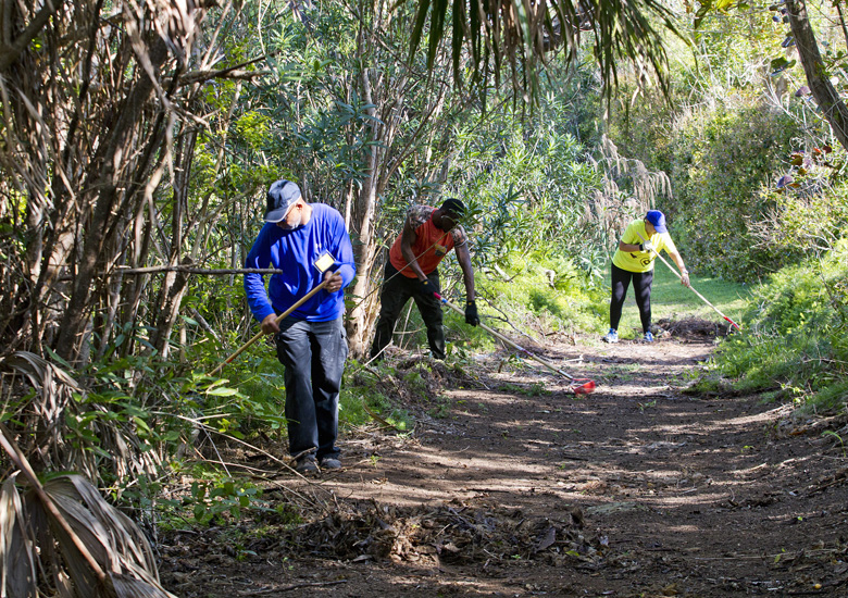 Mirrors Program Clean-up Paget Island Bermuda April 2017 (9)
