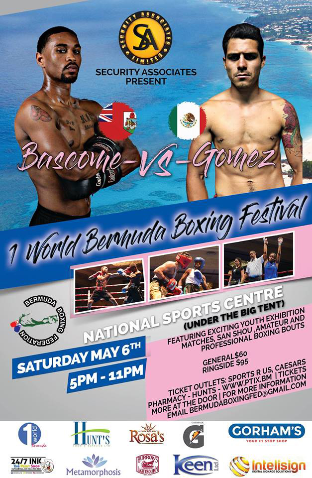 One World Boxing Festival Bermuda April 2017