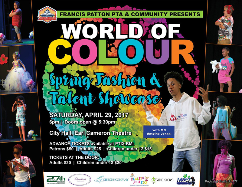 PTA Fashion & Talent Showcase Bermuda April 2017