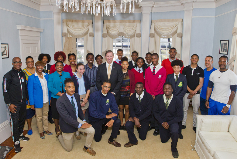 Premier Carifta Reception Bermuda April 12 2017