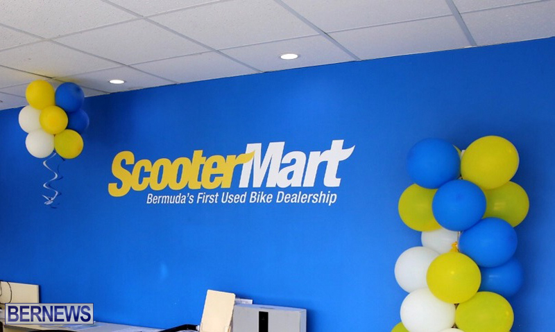 Scooter Mart Bermuda April 5 2017